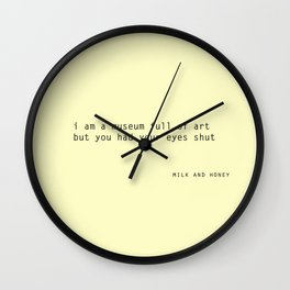 quotes Wall Clock