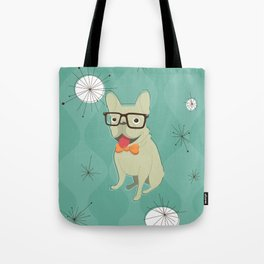 Frank the Frenchie Tote Bag