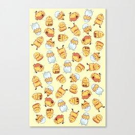 Chick pattern Canvas Print