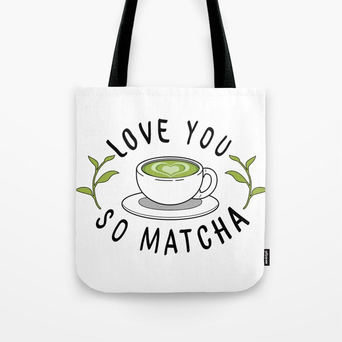 Matcha Love Tote Bag