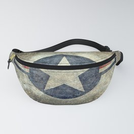 Stylized US Air force Roundel Fanny Pack
