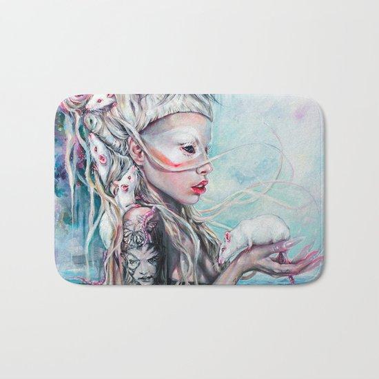 Yolandi The Rat Mistress  Bath Mat