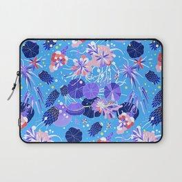 In Bloom Flower Print Laptop Sleeve