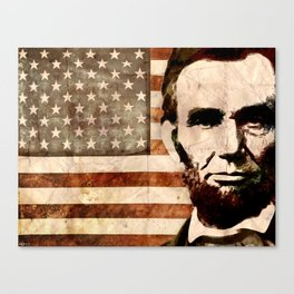 Abraham Lincoln Canvas Print