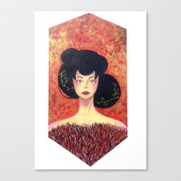 gold&red Canvas Print