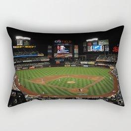 Baseball Mets Field Rectangular Pillow
