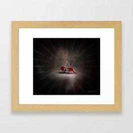 Cherry Splash Framed Art Print