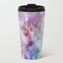Rainbow Stars Space Galaxy Pattern Travel Mug