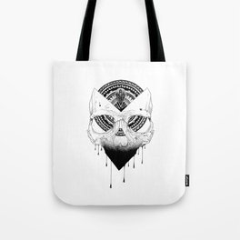 Enigmatic Skull Tote Bag