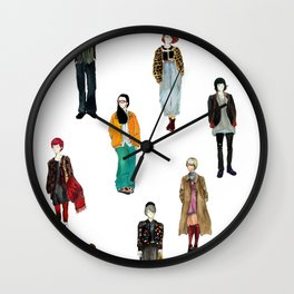 Japanese Street Snap Wall Clock