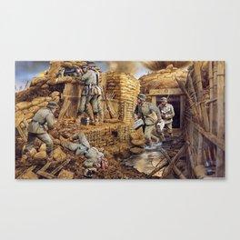 La Guerre Canvas Print