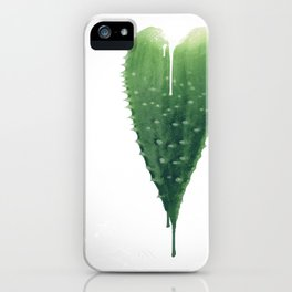 Love Hurts (Aloe Vera) iPhone Case