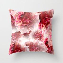 Vivid floral Throw Pillow