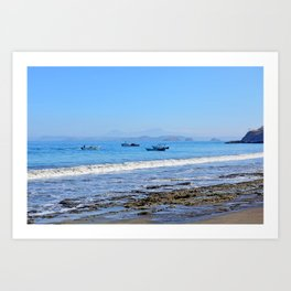 Matapalo Beach Art Print