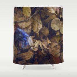 Autumn Slumber Shower Curtain