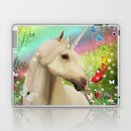 Magical Forest Unicorn Laptop & iPad Skin