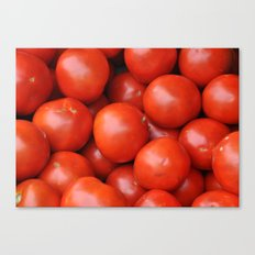 Farmstand Tomatoes  Canvas Print