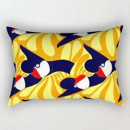 Sparrows by Roxanne Bartlett Rectangular Pillow