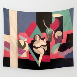 Objects on a Table Wall Tapestry