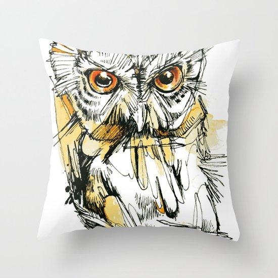 Little Screech Throw Pillow