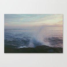 splashed. Canvas Print
