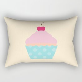 #95 Cupcake Rectangular Pillow
