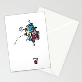 CuorVino - WinHeart Stationery Cards