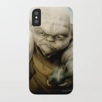 yoda iPhone & iPod Cases featuring Yoda by Colunga-Art