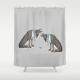 What Is It? Shower Curtain