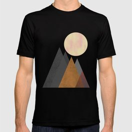 The Gathering, Geometric Landscape Art T-shirt