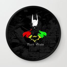 Colorful Heroes Wall Clock