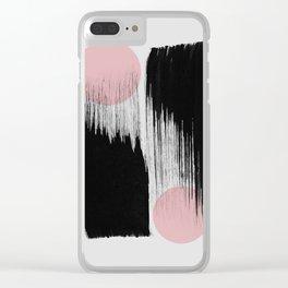 Minimalism 40 Clear iPhone Case