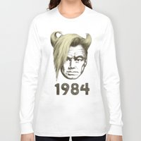 1984 Long Sleeve T-shirts featuring 1984 by Eric Fan