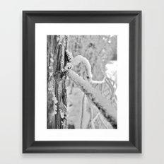 Icing Framed Art Print