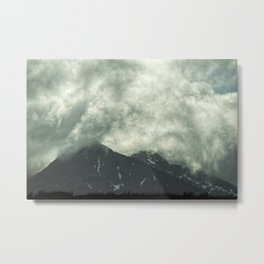 The Face of Creation - Shroud of Mist / Mountains of Grace Metal Print