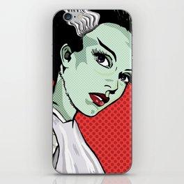 The Bride of Lichtenstein iPhone Skin