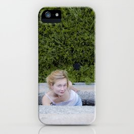 Salut iPhone Case