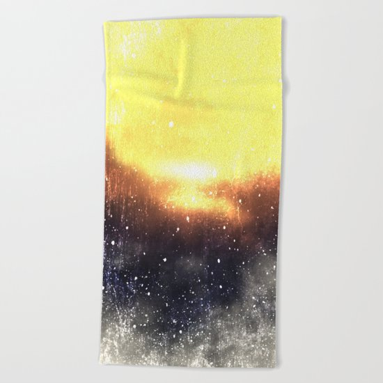 ε Draco Beach Towel