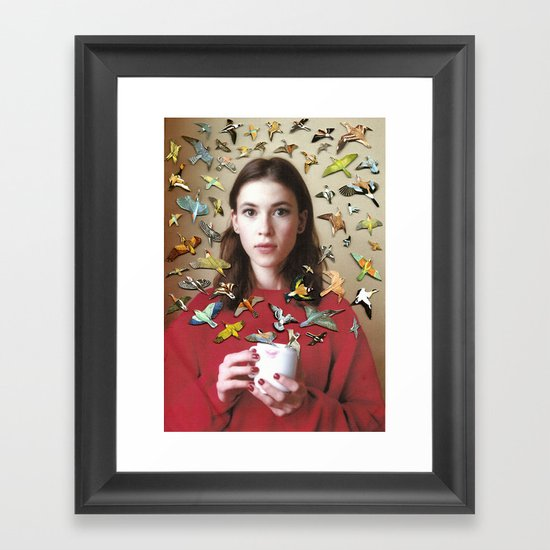 Everything at Once Framed Art Print