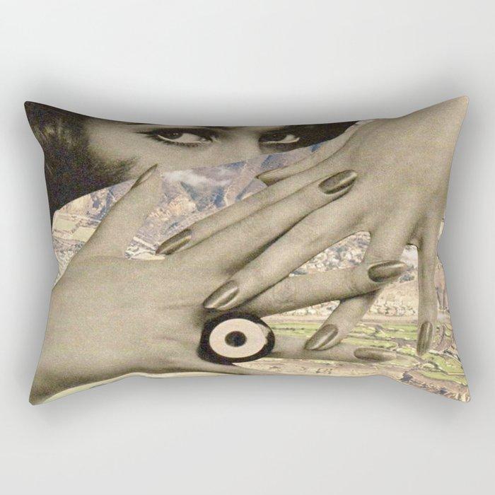 hug you tight Rectangular Pillow