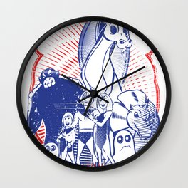 the herculoids Wall Clock