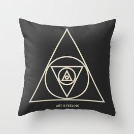 ReyStudios Monochromatic 5 Throw Pillow