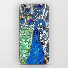 Small Peacock iPhone & iPod Skin