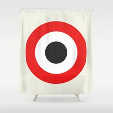 Bullseye Shower Curtain
