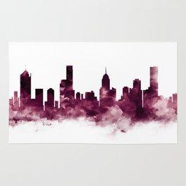 Melbourne Skyline Rug