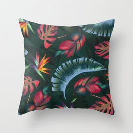 Trpical Pattern #2 Throw Pillow