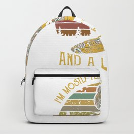 I'm Mostly Peace, Love & Light And A Little Go Fuck Yourself Yoga,Retro Vintage Yoga Gift,Yoga Women Backpack