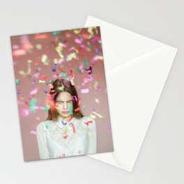 unexpected happiness Stationery Cards