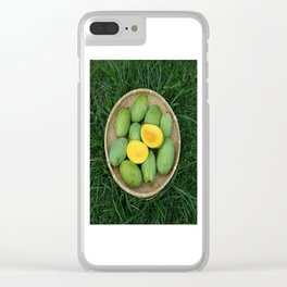 MANGOES GALORE Clear iPhone Case