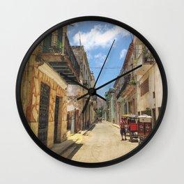 Havana life Wall Clock